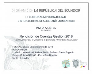 COPISA-INVITACIÓN RDC 2018