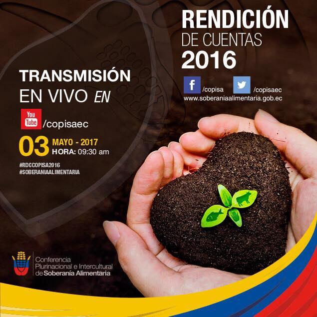 Transmisión en vivo Rendición de cuentas 2016
