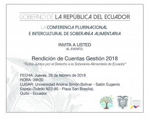COPISA-INVITACIÓN RDC 2018